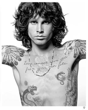 Jim Morrison Tattoo - JJ Adams