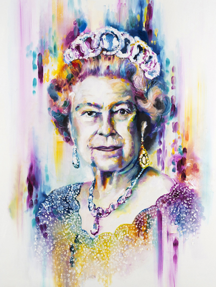 'Her Majesty The Queen' by Katy Jade Dobson