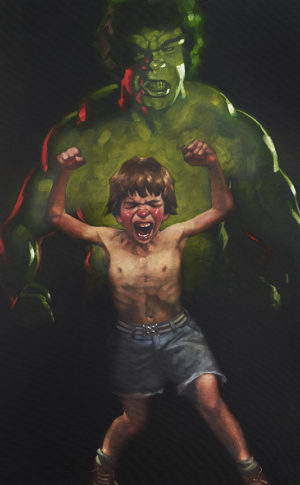 Dr Bruce Banner Is Bathed In The Full Force Of The Mysterious Gamma Rays