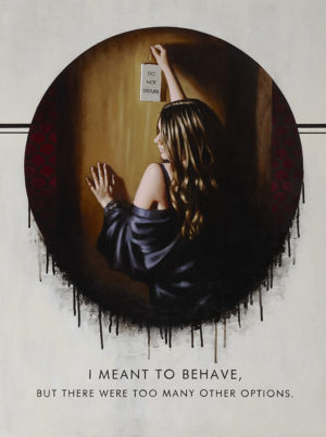 I Meant To Behave - Richard Blunt